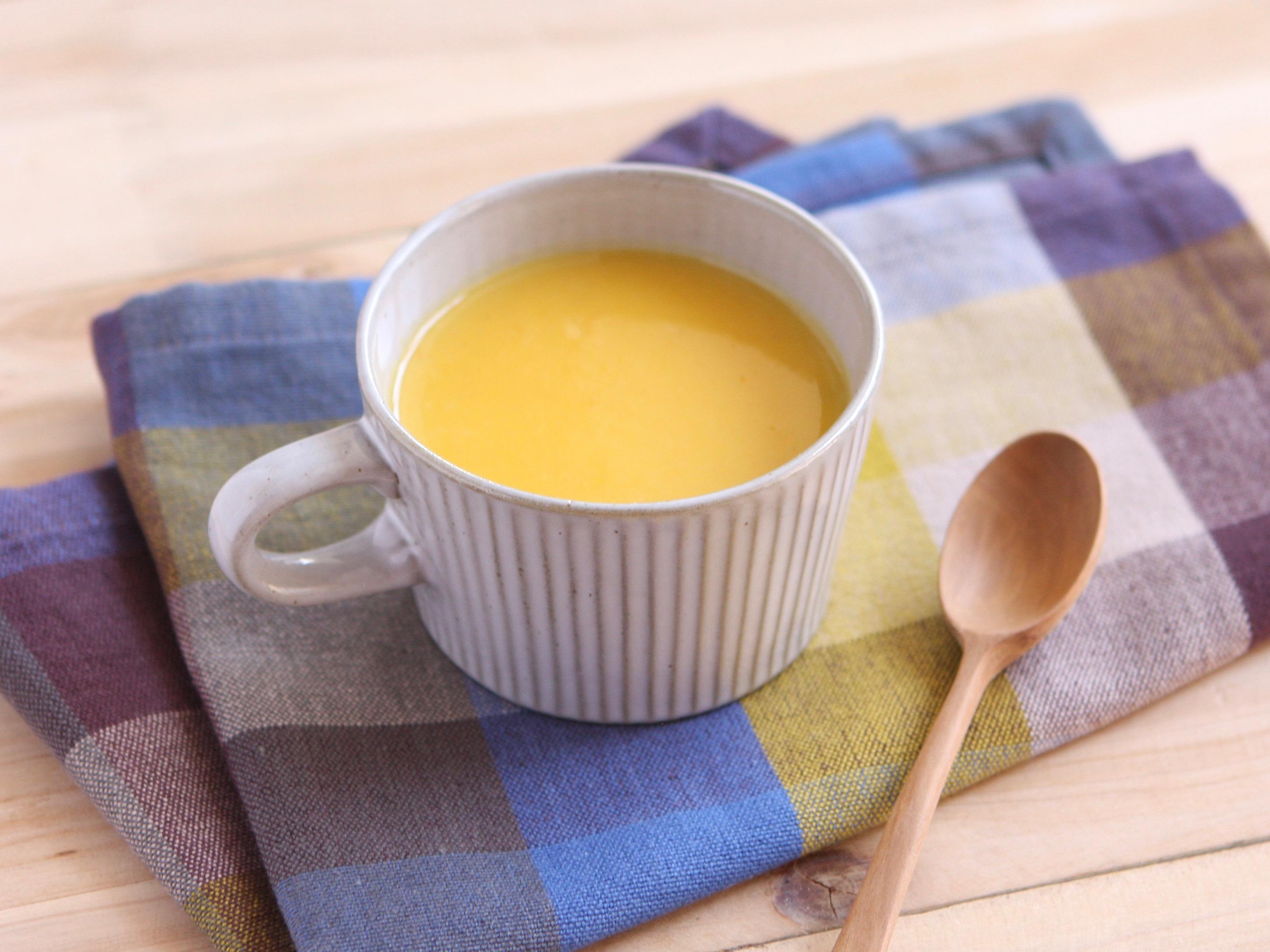 かぼちゃとさつまいものスープ