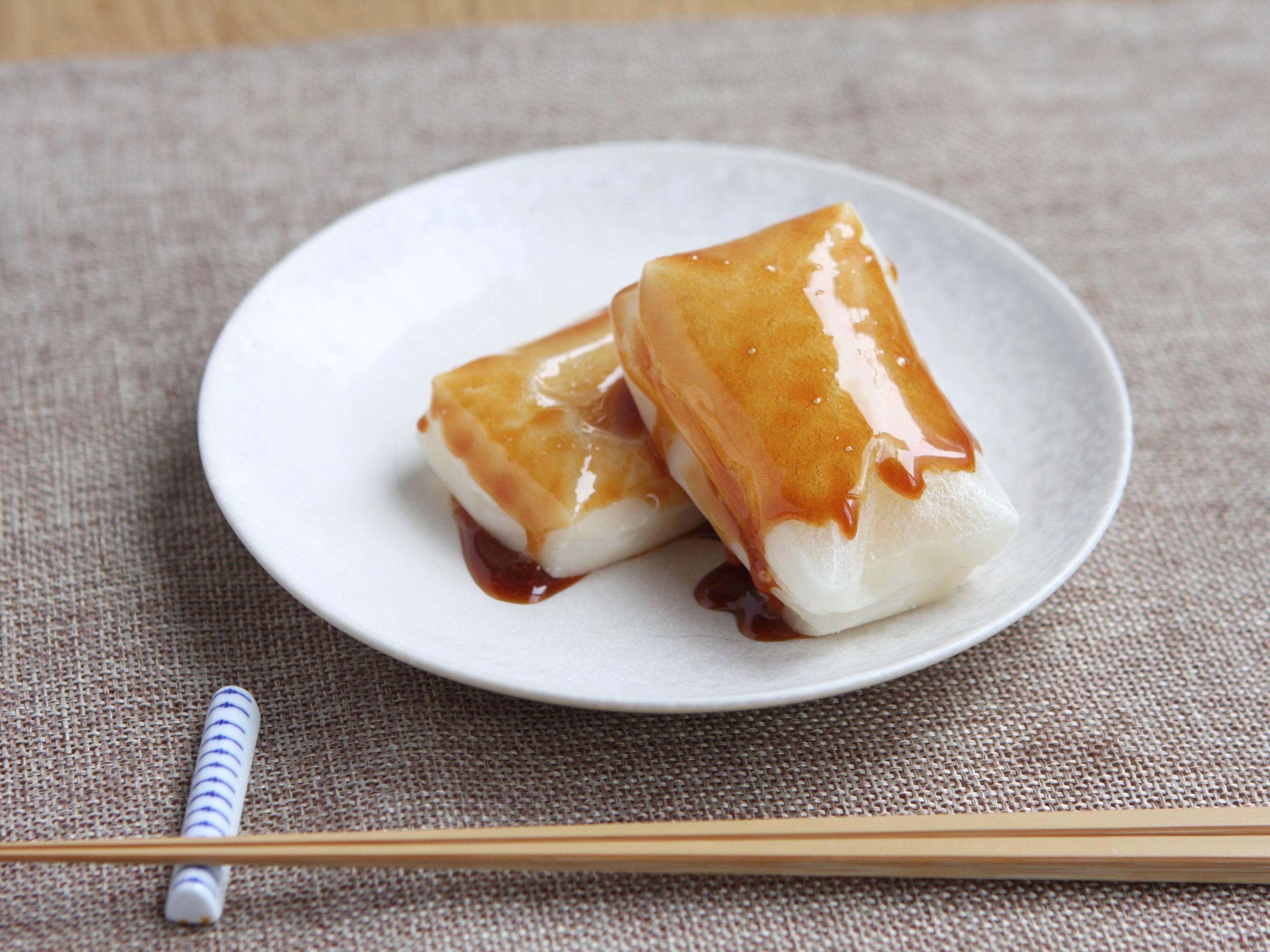 メープル醤油の焼き餅